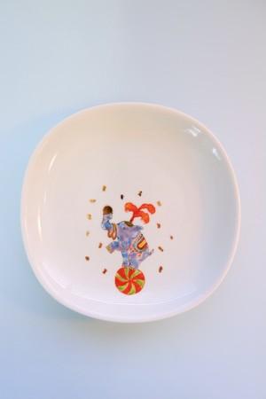 elephant circus / plate(15cm)