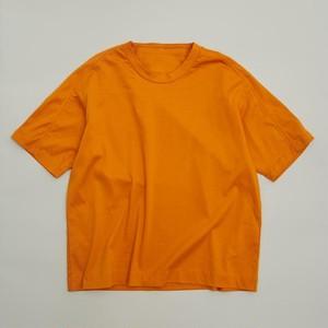 MOUN TEN. organic cotton T(orange) 110/125/140 [21S-MT61-0938a] MOUNTEN.※1点までメール便OK