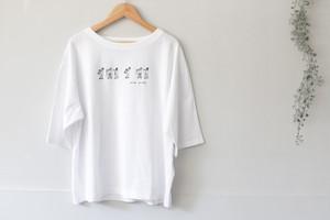 eka::「おじさん刺繍Tシャツ」