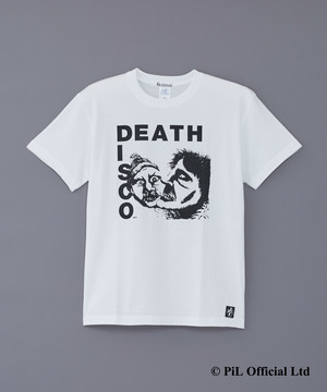 PiL ×deadman DEATH DISCO T-shirts