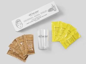 グラスセット:ORIGINAL SODA SYRUP with GLASS