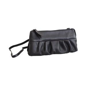 【かぼちゃポシェット / ブラック】長財布も入るお財布ポーチ