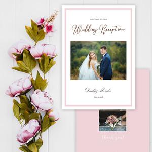 PB13【サンプル】結婚式 プロフィールブック