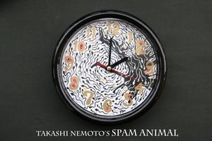 根本敬の精子掛け時計①【Takashi Nemoto's spam animal clock】