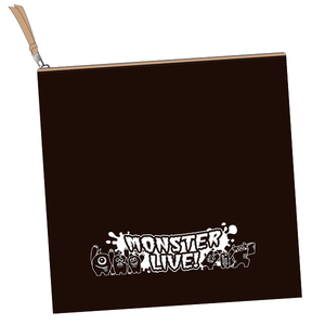 『MONSTER LIVE! シーズン2』クラッチバッグ