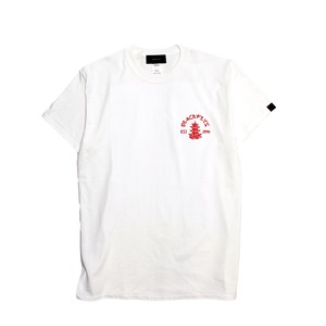 BlackFlys【PAGODA S/S T-SHIRTS】WHITE