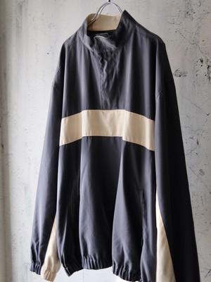 half zip poly jacket