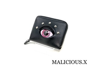 eye folding wallet / pink