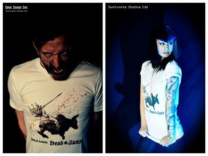 T-04(Zombie Queen ride on Restive bull T-shirts)