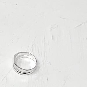 W Line Ring【silver925】|ダブルラインリング|#SP0195【STELLAPARK】