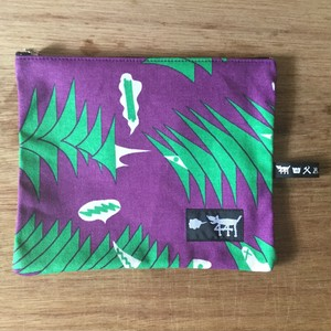 "ミニポーチ mini pouch ""sound wave""02"