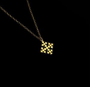 コルト ネックレス 【Special Cross - K10YG】