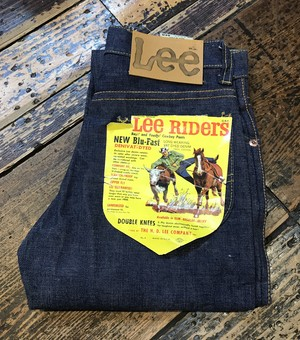Vintage Dead Stock Lee LOT 109B DENIVAT-DYED DOUBLE KNEES PANTS 子供用