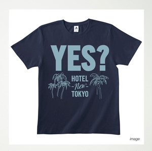 YES? t-shirts navy