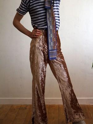 70's velvet pants