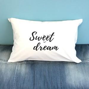 Sweet dream PILLOW CASE [WHITE]