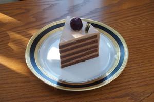 チョコレートのショートケーキ