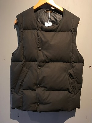 C/P/N PEACH DOUBLE DOWN VEST(LAMOND)