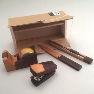 木製品デザインブランド ステーショナリー4点セット SeTO