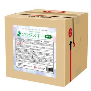 三昌工業・多用途洗剤 ソウジスキー 20リットルボックス入業務用