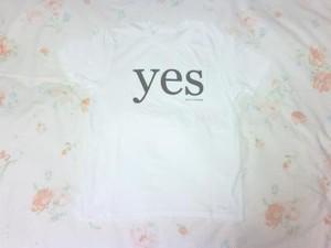 YES Tシャツ ( ホワイト )