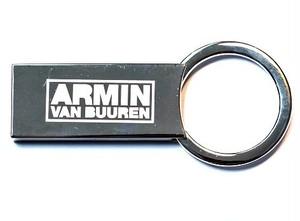 ARMIN VAN BUUREN クロームメタルキーリング