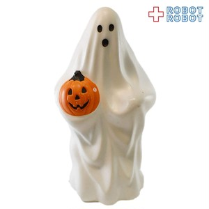かぼちゃ持ちハロウィンゴースト ポリフィギュア