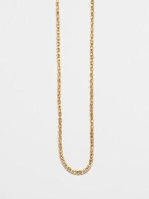 Modern Chain Link Necklace / America