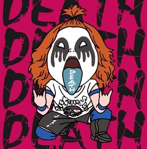 DEATH山さん。直筆サイン入りキーホルダー