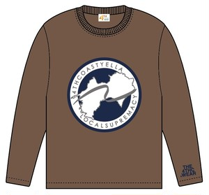TRANS-4THCoast Long Sleeve T-shirt (Brown)