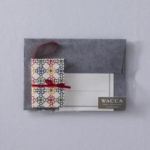 GC16HG 型染紙オーナメントカードセット 花格子