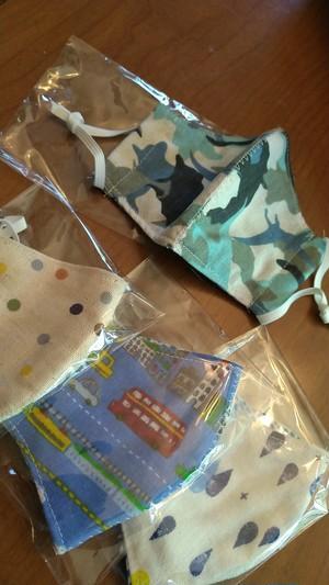 手作りマスク〜幼稚園児と未就園児用