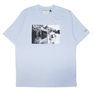 WASTED PARIS × Kevin Cummins Life T-Shirts LIGHT BLUE
