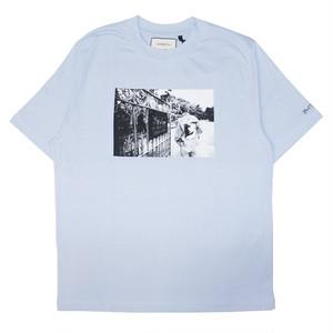 WASTED PARIS × Kevin Cummins Life T-Shirts LIGHT BLUE