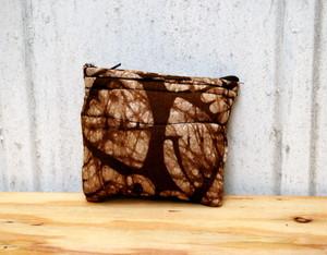 アフリカ布のキルトポーチ 03 【送料無料】