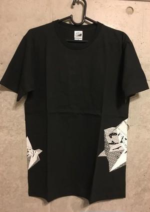 【SALE】Heavenstamp×TomatoコラボTシャツ(Black)