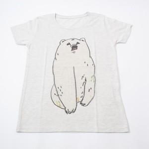 Tシャツ ホッキョクグマ