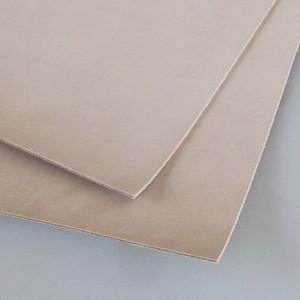 【webshop限定 A4サイズ2枚】タンニン鞣しキップ革 下地クラスト A4サイズ