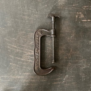 Vintage Iron Clamp