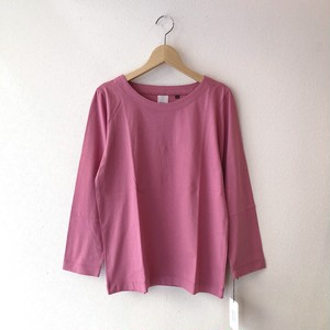 atelier naruse コットン ~standard~ カットソー(長袖)  pink 38size
