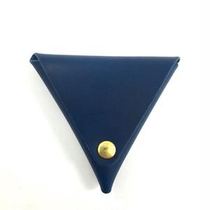 三角コインケース【ブルー】