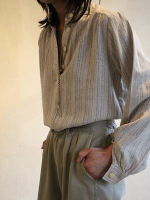70s london vintage silk top