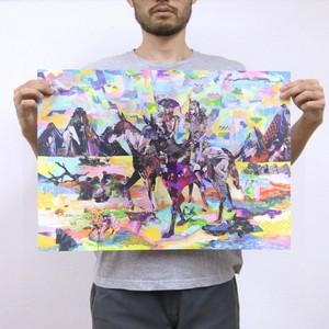 Horse Cruising | ハーフサイズ [42cm x 59cm / A2サイズ]