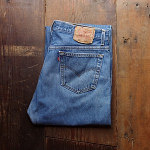 1990's Levi's 501 Denim Pants / リーバイス 501 Made in USA !! 実寸 W35