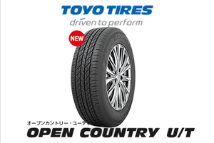 215/70R16 110H TOYO OPEN COUNTRY U/T 4本コミコミセット