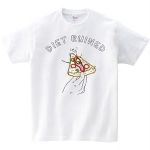 [キッズTシャツ] Diet ruined 2