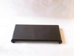 日本製 黒檀調 クリ台(花台) MDF(木質繊維板)