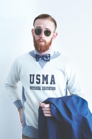 SweatShirt,Men's,Crew,Neck,(Front,Gazette,UCMA,Print) / SWME02