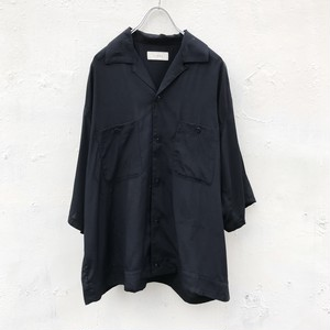 jieda 刺繍 embroidery color shirt (black)