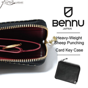 【BENNU】Heavy-Weight Sheep Punching Card Key Case